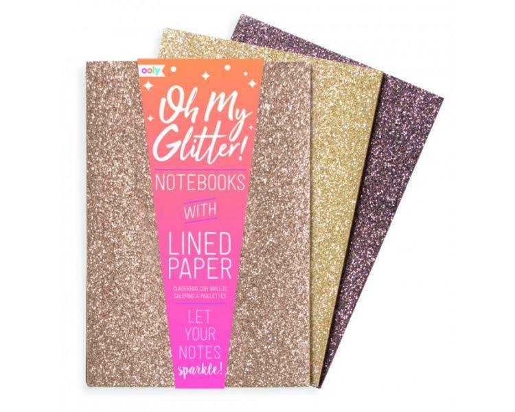 Ooly - Notest z Brokatem Oh-My-Glitter! 3szt. 6+