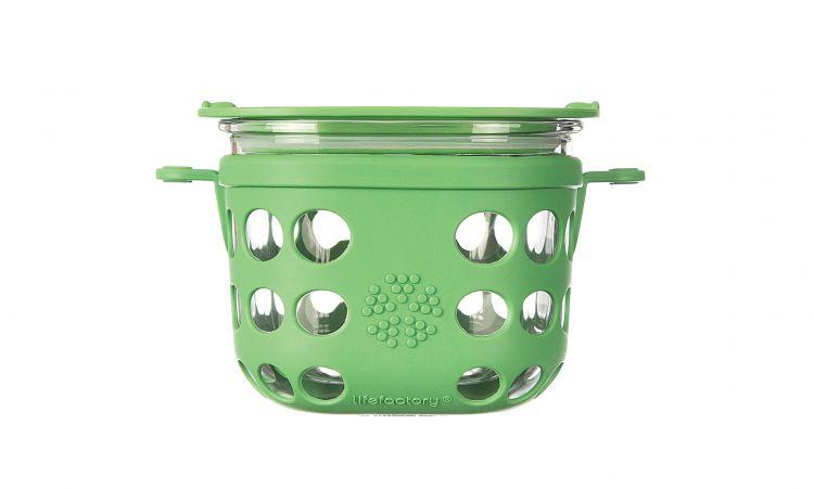 Lifefactory - Pojemnik na żywność 475ml Grass Green