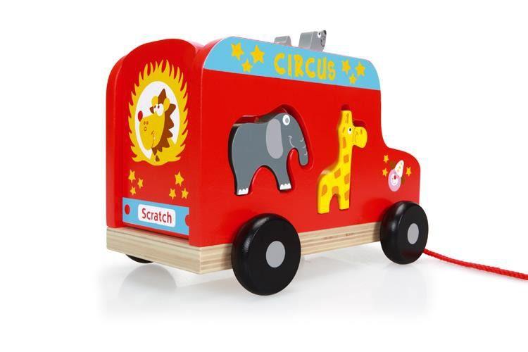 Scratch - Ciężarówka Cyrk