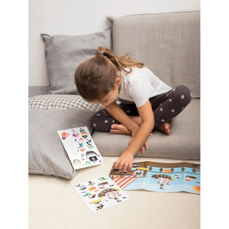 Apli Kids - Zestaw Naklejek z 2 Planszami Księżniczka
