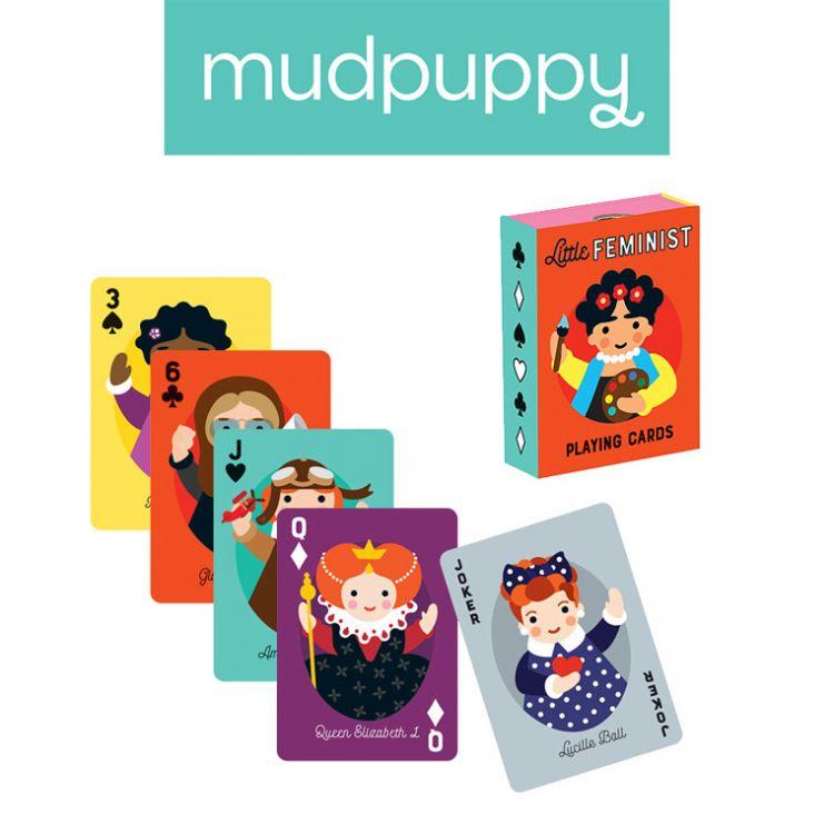 Mudpuppy - Karty Do Gry Niezwykłe Kobiety