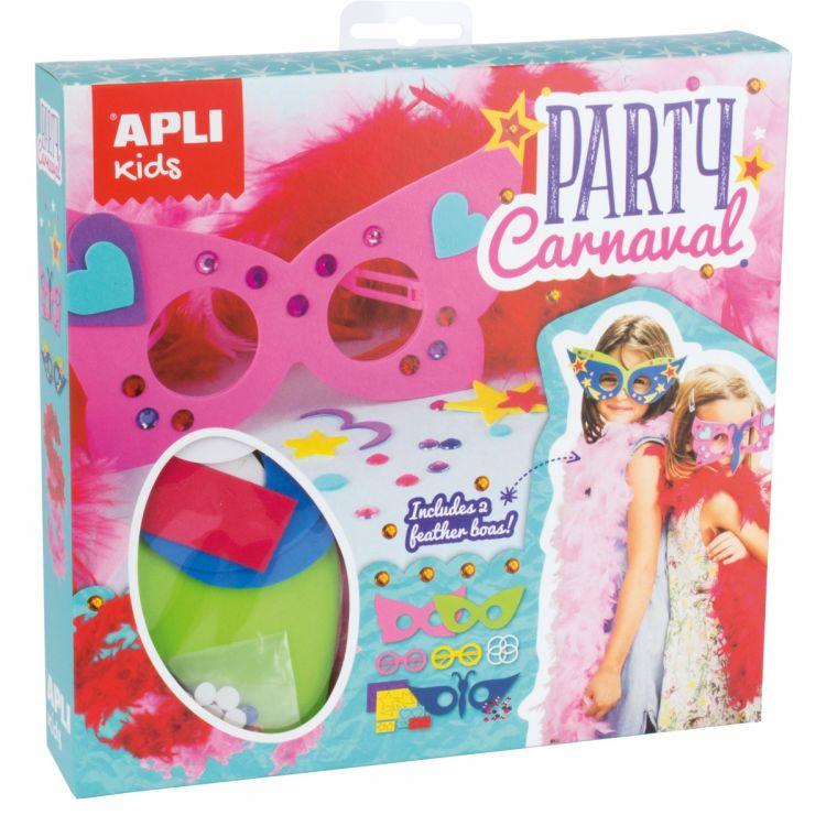 Apli Kids - Zestaw Artystyczny Maski Karnawałowe