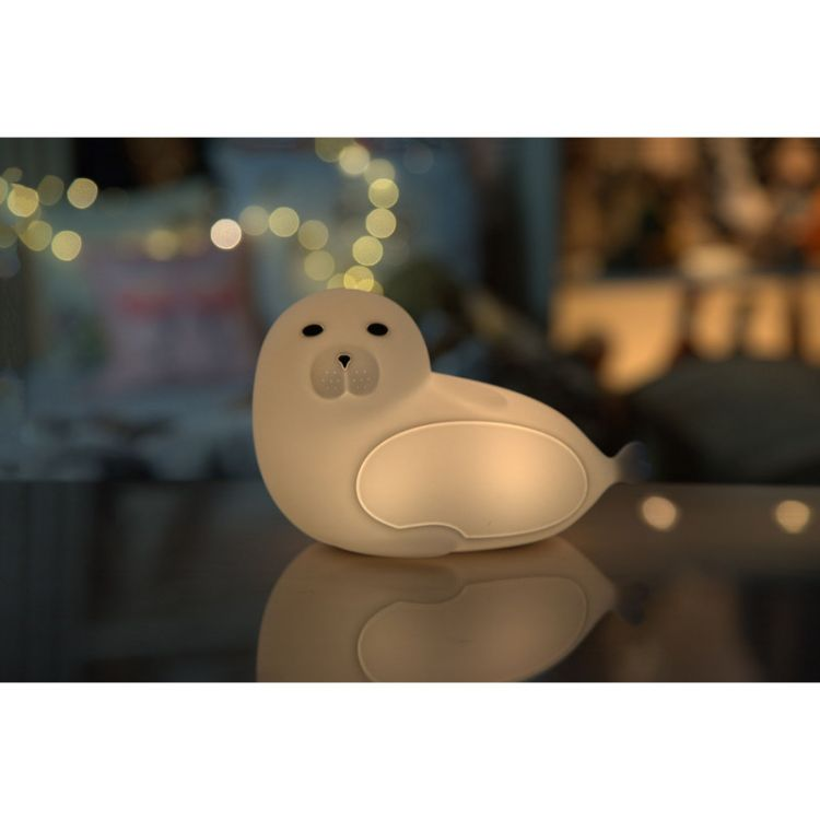Rabbit&Friends - Lampka Silikonowa Wilk Morski z Pilotem