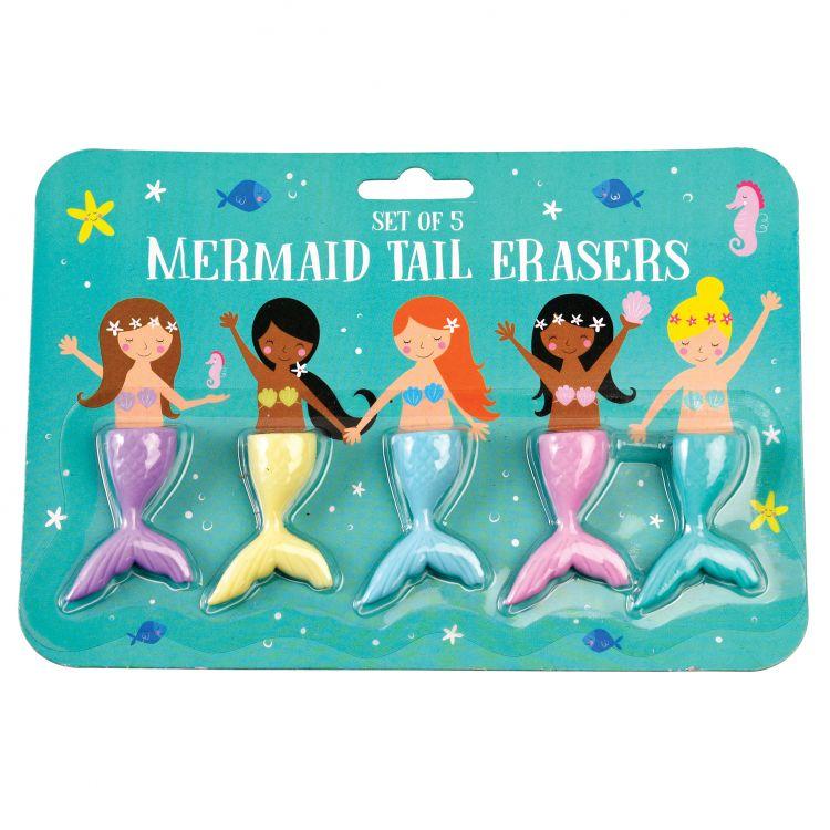 Rex - Zestaw Gumek do Ścierania Mermaid