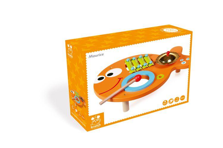 Scratch - Stół Muzyczny Rybka
