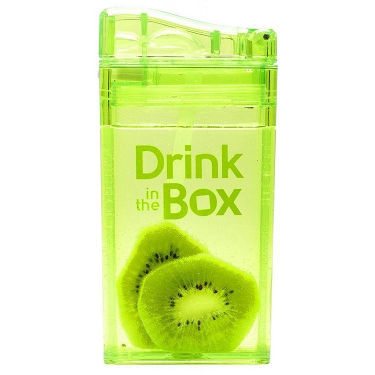 Drink In The Box - Bidon ze Słomką Green 240ml