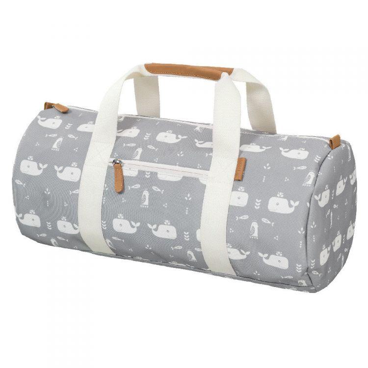 Fresk - Torba Weekend Bag Wieloryb Dawn Grey