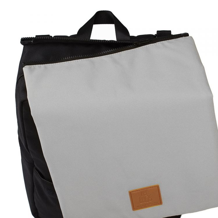 My Bag's - Plecak Reflap dla Mam Eco Black/Grey
