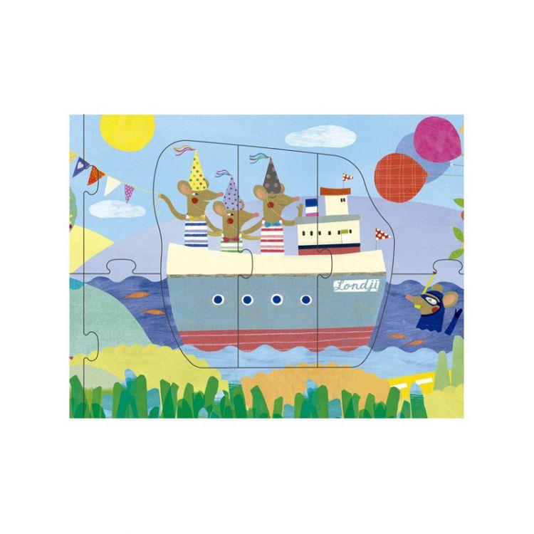 Londji - Puzzle Bon Voyage 3+