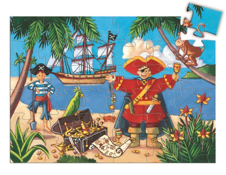 Djeco - Puzzle Pirat 36el. 4+