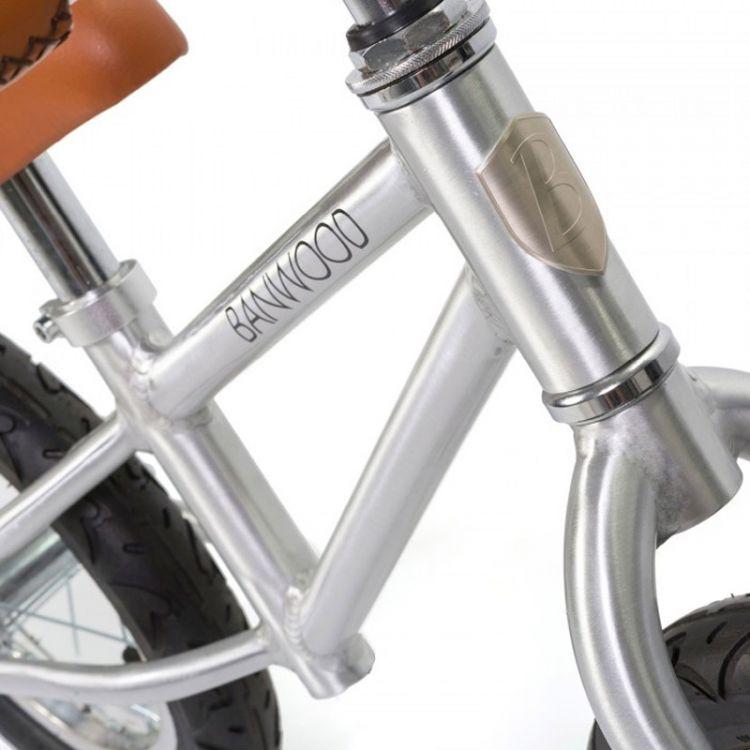 Banwood - FIRST GO! Rowerek Biegowy Chrome 2+