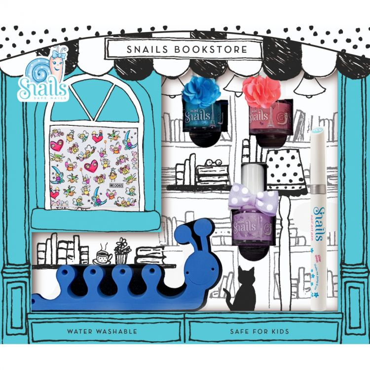 Snails - Zestaw do Paznokci dla Dzieci Bookstore