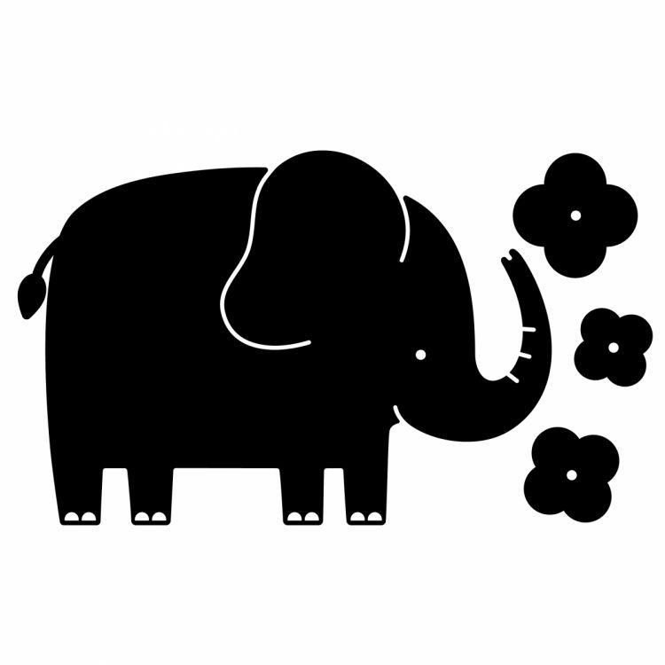 Apli Kids - Tablica Naklejka Kredowa Słoń