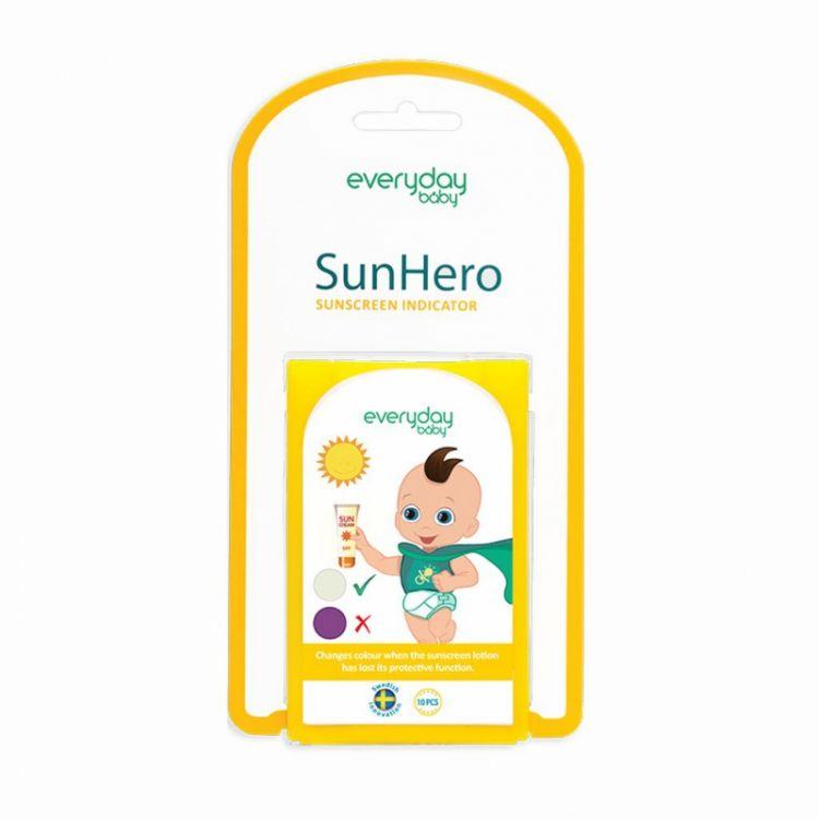 Everyday Baby - Wskaźnik Słoneczny SunHero 10szt