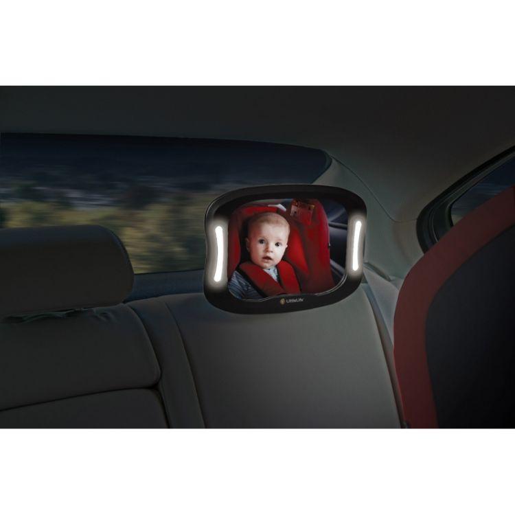 LittleLife - Lusterko z Podświetleniem do Obserwacji Dziecka