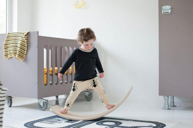 Wobbel - Deska do Balansowania Original Zebra bez Filcu
