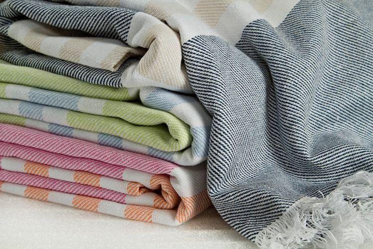 Lulujo - Ręcznik Turecki 3 w 1 Zielony