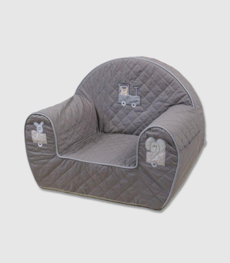 Muzpony - Wygodny Fotelik dla Dziecka Ciuchcia