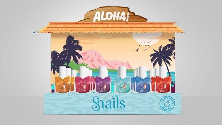 Snails - Lakier do Paznokci Aloha Maui 3+