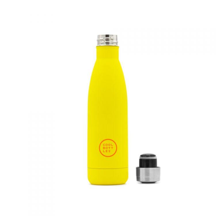 Cool Bottles - Butelka Termiczna 500 ml Triple Cool Vivid Yellow