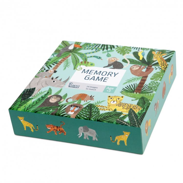 Petit Monkey - Memory Jungle Animals