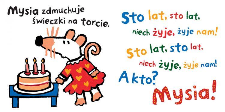 Wydawnictwo Dwie Siostry - Sto lat, Mysiu!