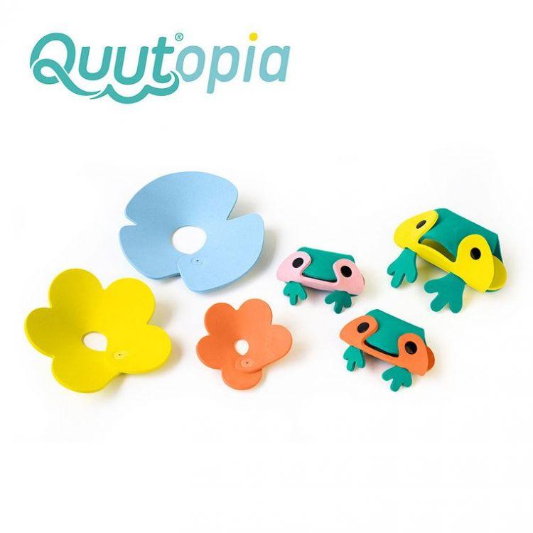 Quut - Zestaw Puzzli Piankowych 3D Quutopia Żabki