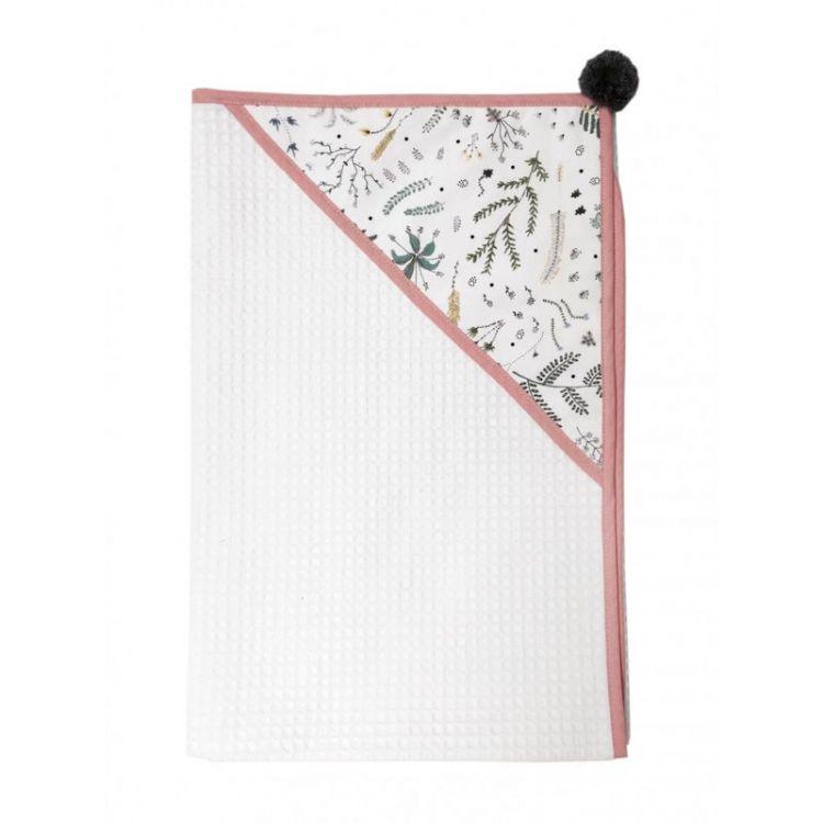 Malomi Kids - Ręcznik Wild Forest Pink 90x90