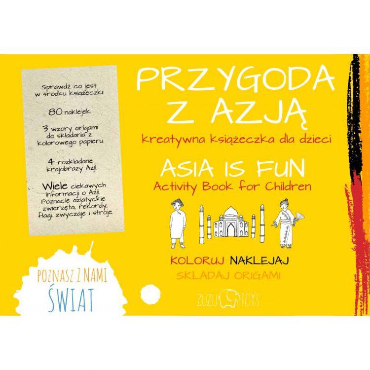 Zuzu Toys - Przygoda z Azją Książeczka Kreatywna