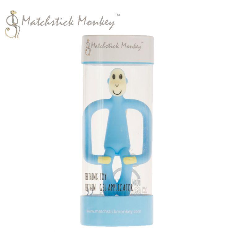 Matchstick Monkey - Gryzak Masujący ze Szczoteczką Light Blue
