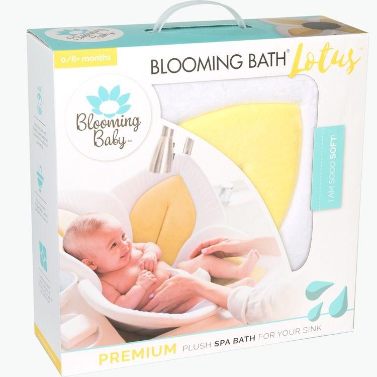 Blooming Bath - Żółty Kwiat Lotosu Do Kąpieli