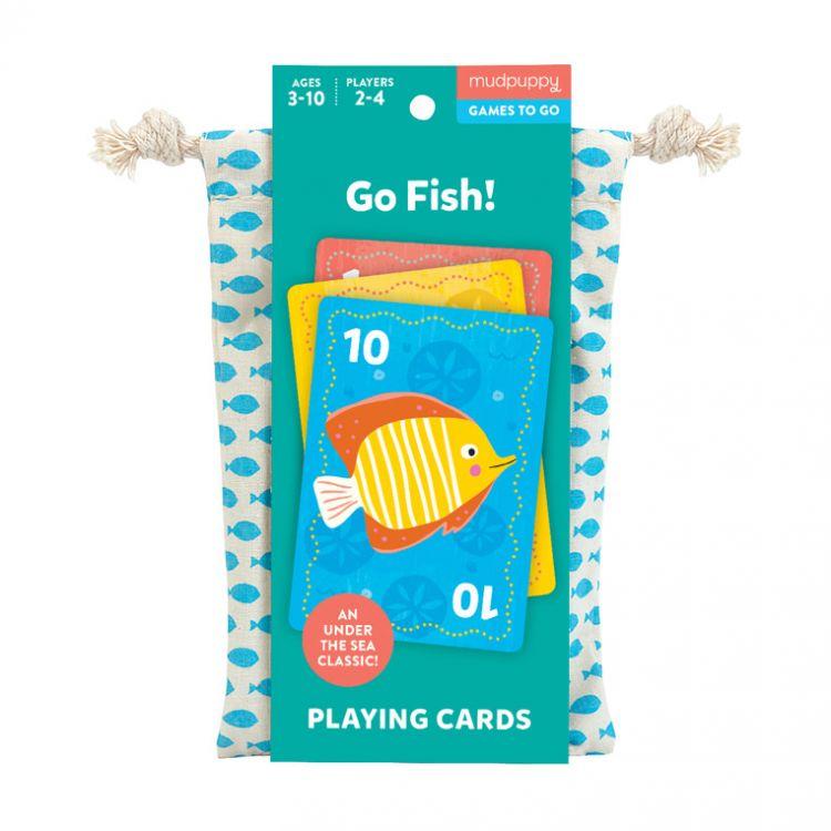 Mudpuppy - Gra Karciana Na Ryby! W Podróżnym Opakowaniu