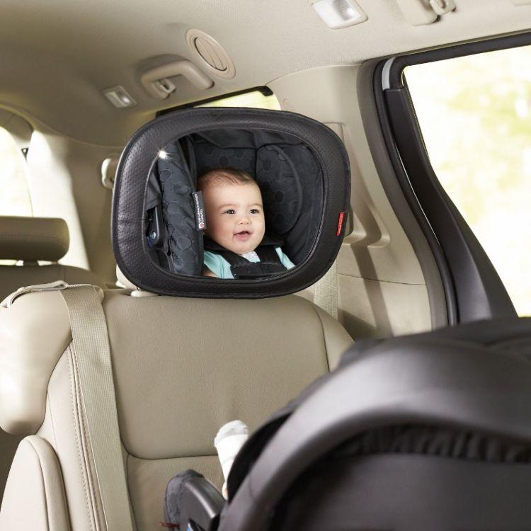 Skip Hop - Lusterko Samochodowe do Obserwacji Dziecka Tonal Chevron 0m+