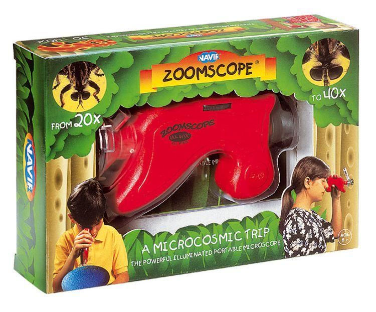 Navir - Zoomscope - Przenośny Mikroskop z Oświetleniem 6+