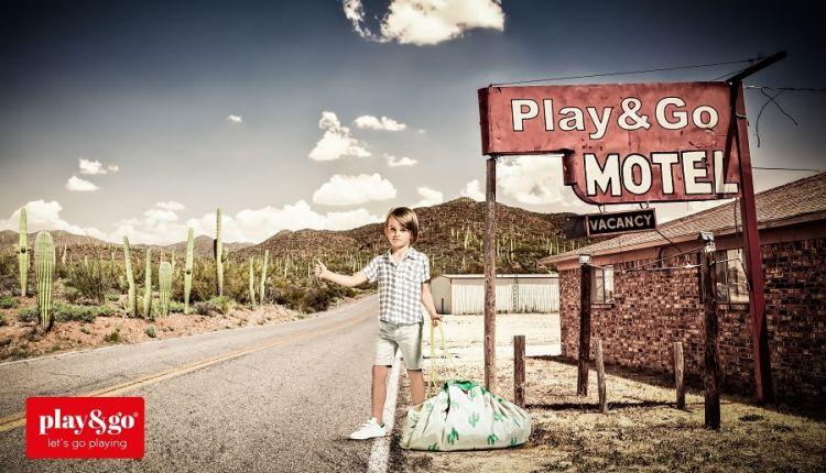 Play & Go - Worek na Klocki Kaktus
