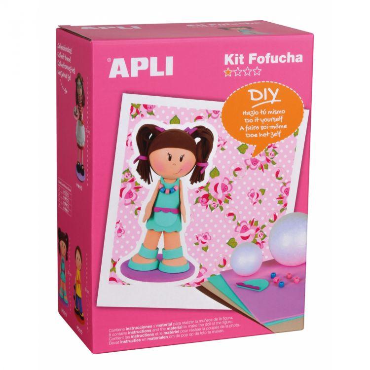 Apli Kids - Lalka Fofucha Dziewczynka