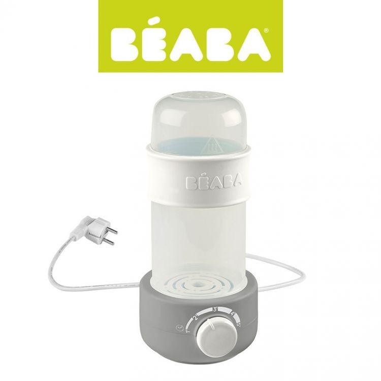 Beaba - Podgrzewacz i Sterylizator Parowy do Butelek i Słoiczków Babymilk Second Grey