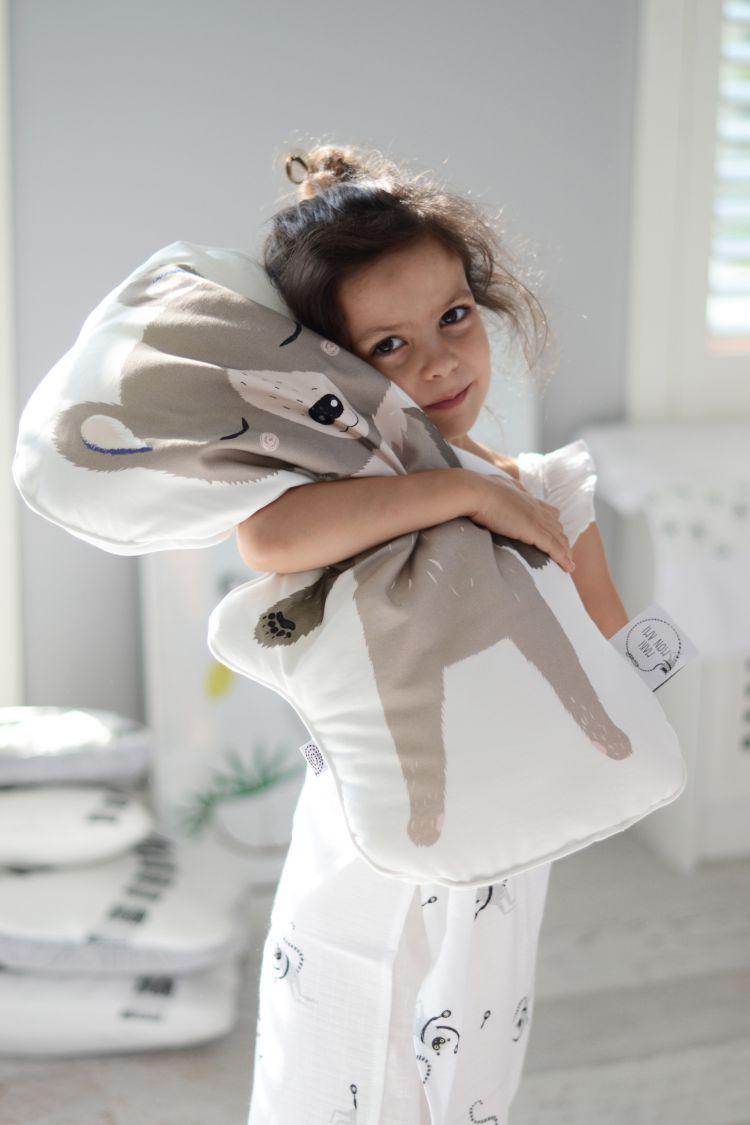 Maki Mon Ami - Poduszka do Przytulania Sowa Pola