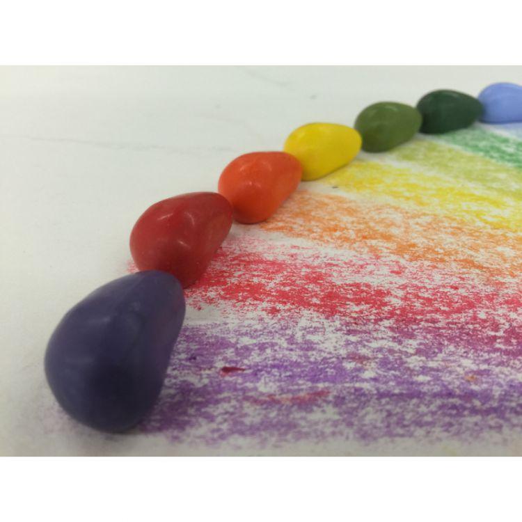 Crayon Rocks - Kredki Valentine 20 Kolorów w Różowym Woreczku