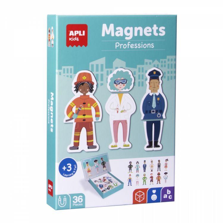 Apli Kids - Magnetyczna Układanka Zawody 3+