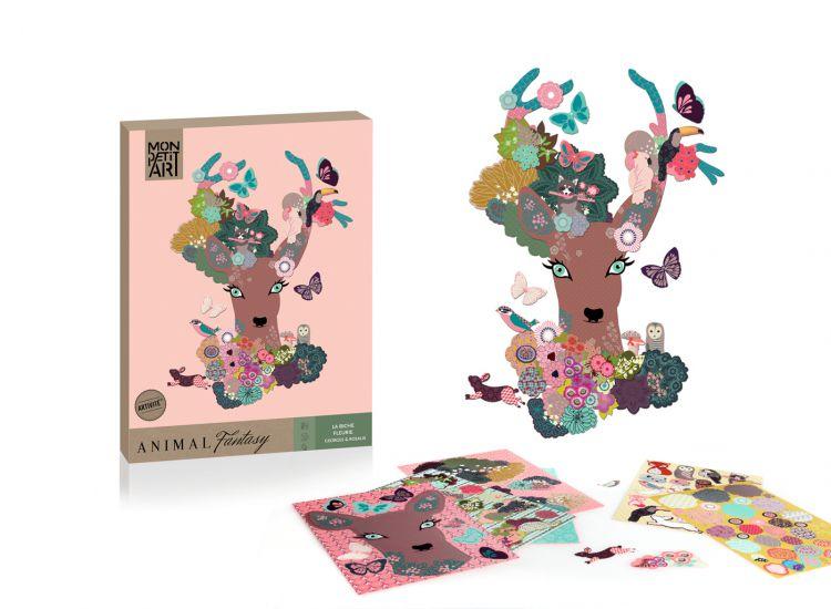 Mon Petit Art - Zestaw Kreatywny Animal Fantasy