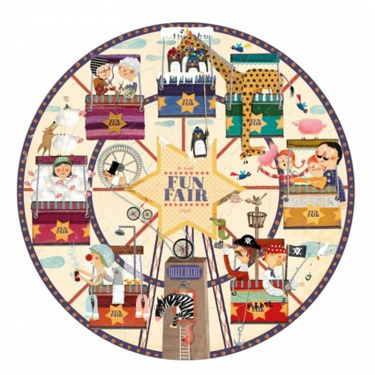 Londji - Puzzle My Round Fun Fair 4+