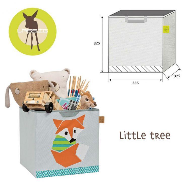 Lassig - Pudełko na Zabawki Little Tree Lis