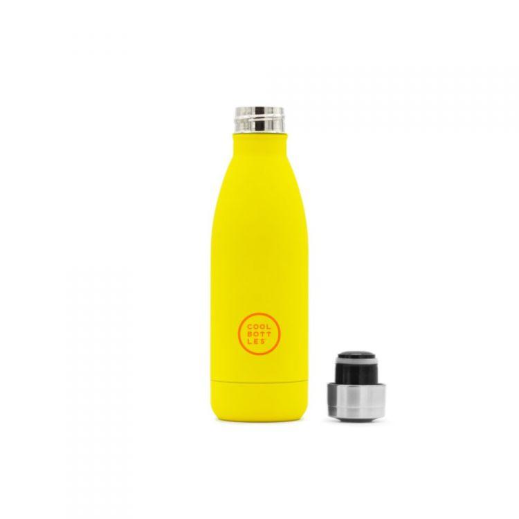 Cool Bottles - Butelka Termiczna 350 ml Triple Cool Vivid Yellow