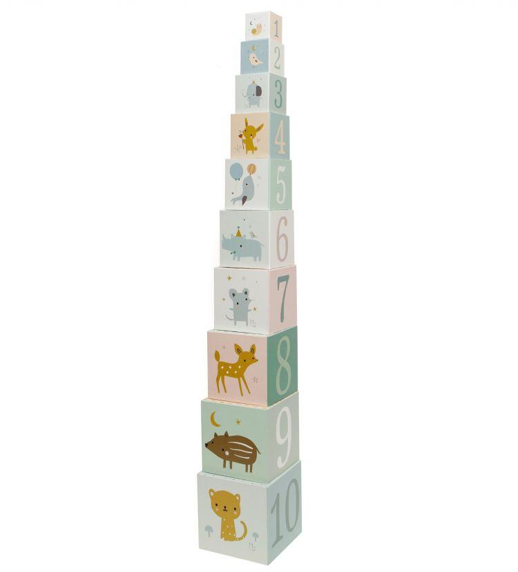Petit Monkey - Klocki Wieża Forest Friends
