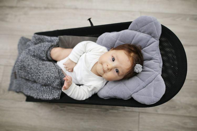 Sleepee - Misiowa Poduszka Royal Baby Grey