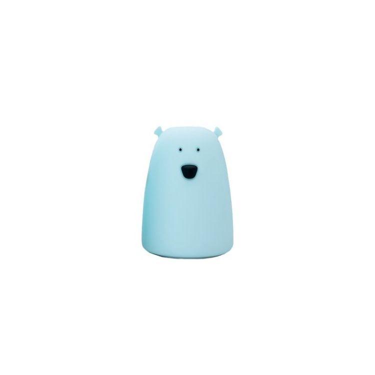 Rabbit&Friends - Lampka Miś Duży Niebieski
