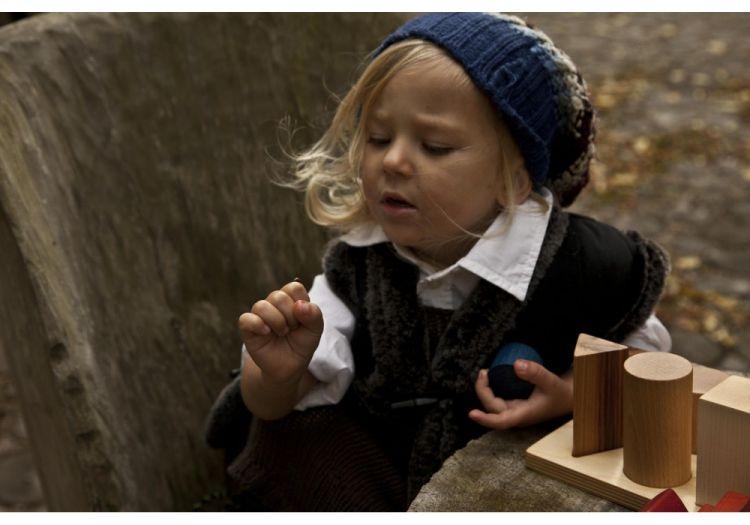 Wooden Story - Sorter Board Naturalny XL