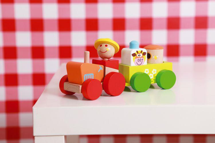 Scratch - Traktor z Przyczepą