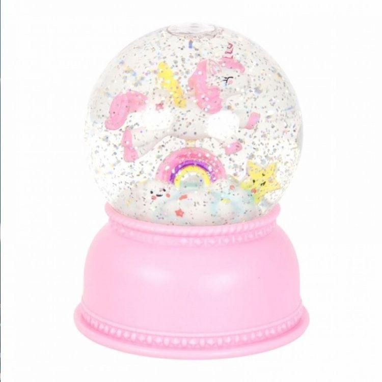 Little Lovely Company - Świecąca Kula Śnieżna Jednorożec